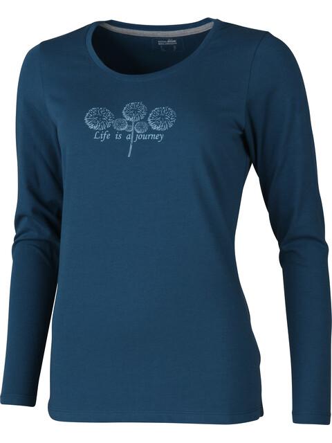 High Colorado Wallis 3 - Camiseta de manga larga Mujer - azul